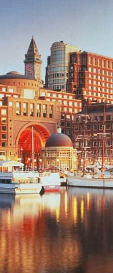 Boston Harbor Hotel....great amenities, nice little restaurant. Close to everything! Hubby and I LOVED staying here!