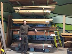 Wood delivery for #BlackCanyonWoodworks. #customfurniture #personalizedgifts
