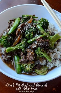 Crock Pot Beef and Broccoli Recipe