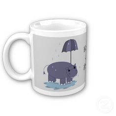 Happy as a Hippo coffee mug...