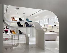 Melissa flagship store by Blu Water Studio, Kuala Lumpur