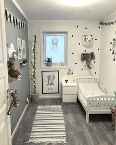 50 Modern and Dreamy Dorm Bedroom Design Ideas For You - Bedroom Decor Ideas - Bedroom Boy Toddler Bedroom, Toddler Rooms, Baby Bedroom, Baby Boy Rooms, Nursery Room, Kids Bedroom, Baby Boy Bedroom Ideas, Trendy Bedroom, Boys Bedroom Ideas Toddler Small