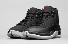 "Air Jordan 12 Retro ""Nylon Black"""
