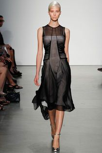 Pretty but I think a nude under dress....reedkrakoff New York Fashion Week 2013 #fashion #style