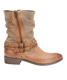 Love this Matisse Tan Outback Leather Boot by Matisse on #zulily! #zulilyfinds