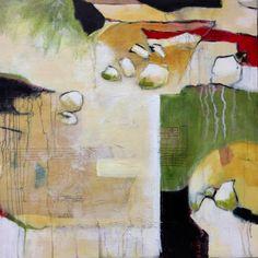 "Elaine Florimonte. New piece. 24""x24"". Acrylic on board. elaineflorimonte.com My friend is so talented! :)"