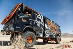 King Of The Hammers 2017 Here's a collection of photos from our recent trip to King Of The Hammers where we took out Rebelzilla to do shock tuning and get. Slide In Camper, Dodge Pickup, Expedition Vehicle, Motorhome, Offroad, Rebel, 4x4, Beast, Monster Trucks