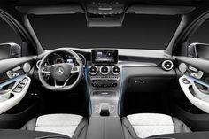 Photographs of the 2016 Mercedes-Benz GLC. An image gallery of the 2016 Mercedes-Benz GLC. Mercedes Benz Interior, Mercedes Benz Suv, New Mercedes, Daimler Ag, Daimler Benz, Santa Cruz Bolivia, Car Ui, Miniature Cars, Autos