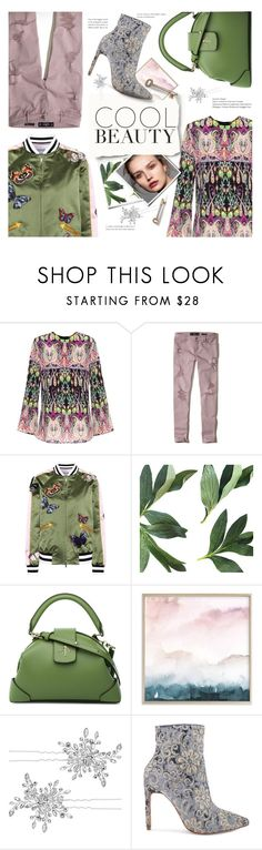 """""""Cool Beauty"""" by sara-cdth ❤ liked on Polyvore featuring Etro, Hollister Co., Valentino, MANU Atelier, Matthew Williamson and Raye"""