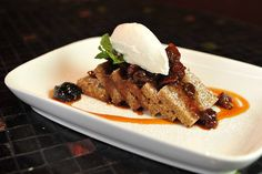 Ginger Spice Cake with Cider Braised Dried Fruit. Chef Sarah's secret ...
