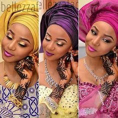 Makeup & Gele on point