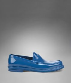 YSL Cobalt Blue Loafer