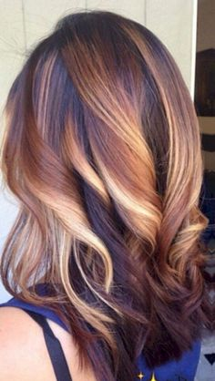 Awesome 74 Trending Fall Hair Colors 2017 #falltrends #fallhair #hairtrends