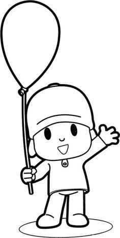 Espaço Educar desenhos para colorir : 30 Desenhos do pocoyo para pintar, colorir, imprimir! Pocoyo para pintar! Moldes e riscos de Pocoyo e sua turma