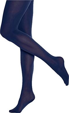 c1c654c3469 Hue Womens Opaque Tights Non Control Top 3 Blue Print    More info could be  found at the image url. Fashion Women · Tights Socks