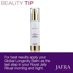 Use this tip to get the most out of your Royal Jelly Ritual. http://jafra.me/dkp