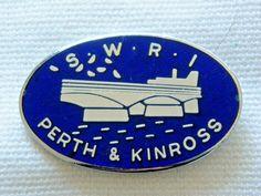 SWRI Perth & Kinross X Womens Institute, Scottish Women, Perth, Badges, Badge