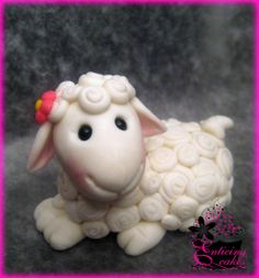 Fondant Sheep Cake Topper Cakes And Confections Lamb