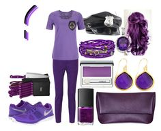 """""""Purple Guy! five Nights At Freddy's 1, 2, and 3!"""" by unicornlover1111111 ❤ liked on Polyvore featuring M Missoni, NIKE, Maison Takuya, NARS Cosmetics, Ginsu, Clinique, Dash and Platadepalo"""