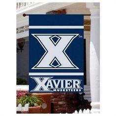 Xavier University Musketeers Large Tailgating Flag Xavier University, Diy Bottle, Musketeers, Tailgating, Colleges, Cincinnati, Basketball, Flag, University