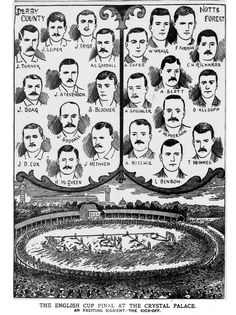 """Not enough mustaches and sensible haircuts in today's football cup final. Police News, Sir Alex Ferguson, Derby County, Fa Cup Final, Everton Fc, Mystery Novels, Art Projects, Project Ideas, Mustache"