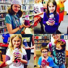 As a final fourth craft for our #StockingStuffers workshop, kids made their own #snowmen.  Chances are, we won't be making the real thing in Texas for the #holidays, so it's good to still be able to make one at a #program. We just had too much fun at this library workshop! #AbilenePublicLibrary #Crafts #Kids #Youth #Children #Families #Stocking #Gifts #Holiday #Cool #CraftIdeas #Projects #Winter #Fun #Interactive
