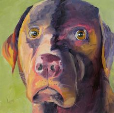 """""""Kona"""" 73/101 of my 101 Pet Portraits in 101 Days project.  SOLD  http://saundralanegalloway.blogspot.com/2015/04/kona-73101-of-101-pet-portraits-in-101.html"""