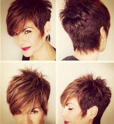 Short Hairstyles With Long Bangs Interesting 30 Spiky Short Haircuts  Pinterest  Short Spiky Hairstyles
