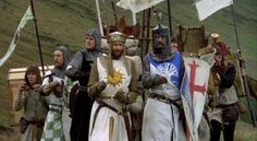 King Arthur:It is I, Arthur, son of Uther Pendragon, from the castle of Camelot. King of the Britons, defeater of the Saxons, Sovereign of ...