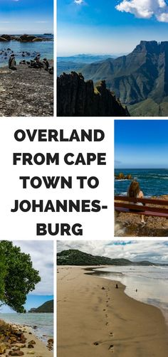 Backpacking in South Africa. Traveling overland from Cape Town to  Johannesburg with Baz Bus.