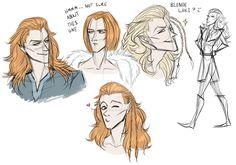 Loki sketches by certibbs