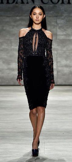NY: Idan Cohen - Runway - Mercedes-Benz Fashion Week Fall 2015 https://www.pinterest.com/disavoia22/