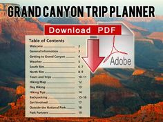 Grand Canyon Trip Planner Download