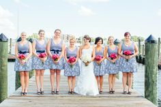 A Nautical Affair Nautical Wedding Inspiration, Bridesmaids And Groomsmen, Affair, Backdrops, Wedding Dresses, Nautical Dress, Photography, Clothes, Dress Ideas