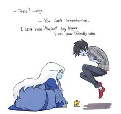 OH GLOB IT HURTS!  All I ever wanted was for you to remember me...