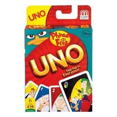 Mattel Disney Phineas and Ferb UNO Card Game for sale online Uno Card Game, Uno Cards, Love Games, All Games, Polly Pocket, Phineas Und Ferb, My Little Pony Backpack, Disney Games, Walt Disney
