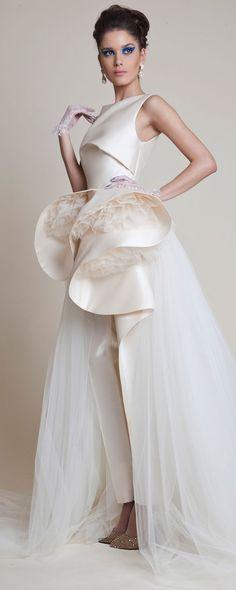 Azzi & Osta Printemps-été 2014 - Haute couture - http://fr.orientpalms.com/azzi-osta-4529