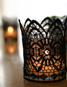Cute votive holder idea
