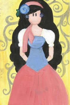 Esmeralda Fun and Cute Card for Any Ocassion by maddierosedoodles, $2.99