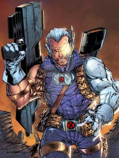 a Cable print i'll be debuting this coming weekend at Animate Miami! Lines: Adelso Corona (me) Colors by: Bryan Arfel Magnaye Cable print. Marvel Rpg, Marvel Comics Art, Comic Book Heroes, Comic Books Art, Comic Art, Cable Marvel, Deadpool, Comics Universe, Comic Character