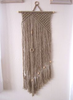 Macrame+Wall+Hanging++Asymmetry++Handmade+Macrame+by+craft2joy,+$210.00