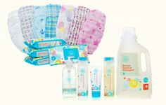 Honest Company Diapers ~ 100% non-toxic, chlorine-free, sustainable, and plant-based materials – no harsh or synthetic chemicals.