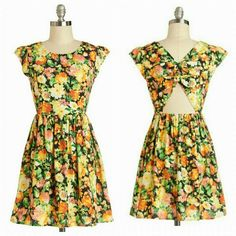 "Modcloth Tide and Joy dress in Floral EUC. worn once, I just found it to be too short for me. size small. 30"" shoulder to hem. ModCloth Dresses Mini"