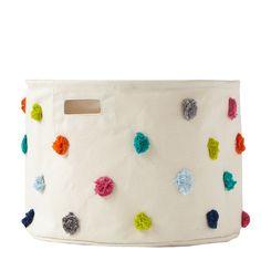 Pom Pom Basket, Colorful