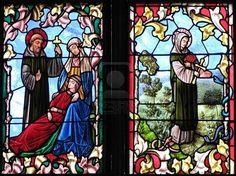 Siglo XV, vidrieras de la catedral de Constanza, Alemania