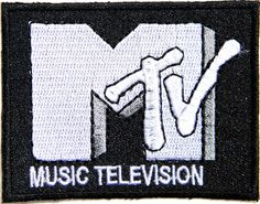 MTV MUSIC TELEVISION Band Logo Jacket T-shirt Patch Sew Iron on Badge Sign Costum