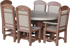 Looking for LuxCraft Recycled Plastic Oval Table Set 2 Captain Chairs 4 Regular Chairs ? Check out our picks for the LuxCraft Recycled Plastic Oval Table Set 2 Captain Chairs 4 Regular Chairs from the popular stores - all in one. Patio Furniture Sets, Dining Room Furniture, Home Decor Catalogs, Oval Table, Modern Sectional, Best Kitchen Designs, Table Dimensions, Table And Chair Sets, Table Settings