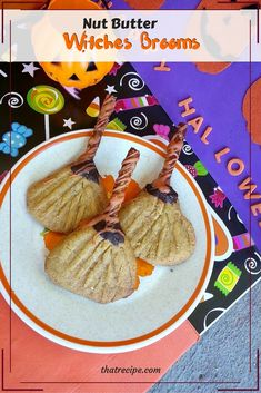Witch Broom Cookies