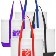 Imprinted Non-Woven Tote Bag with Color