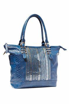 978f69c13829 Big Buddha Breve Blue Handbag   Think Her Blue Handbags